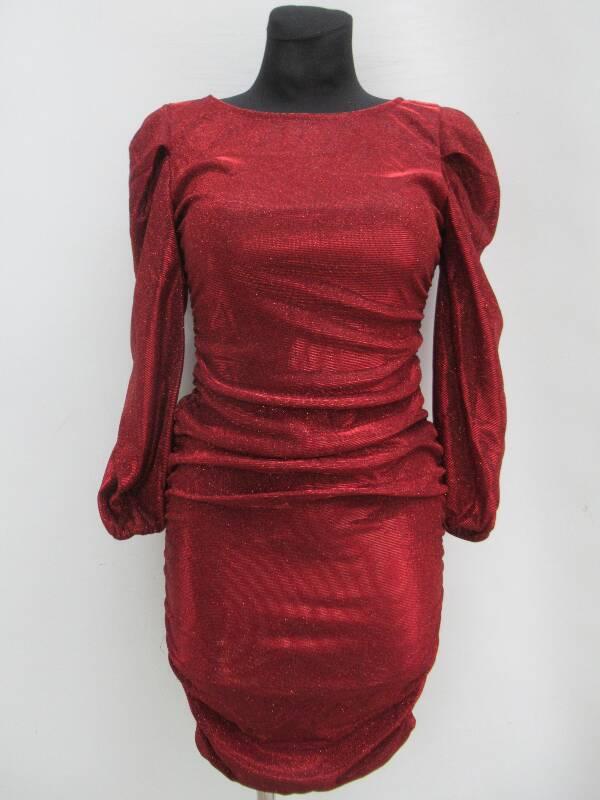 Sukienka Damska F5486 MIX KOLOR STANDARD ( Produkt Włoski )