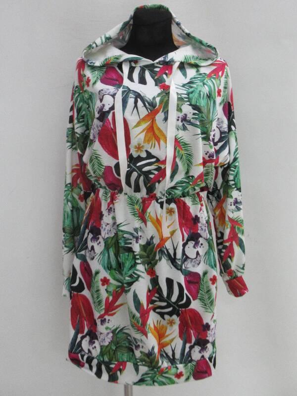 Sukienka Damska F5495 MIX WZÓR STANDARD ( Produkt Włoski )