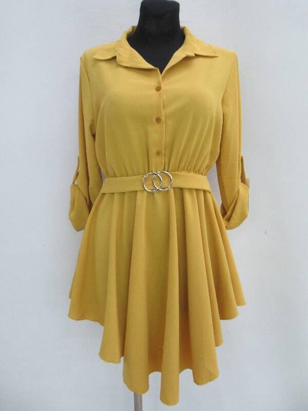 Sukienka Damska F5501 MIX KOLOR STANDARD ( Produkt Włoski )