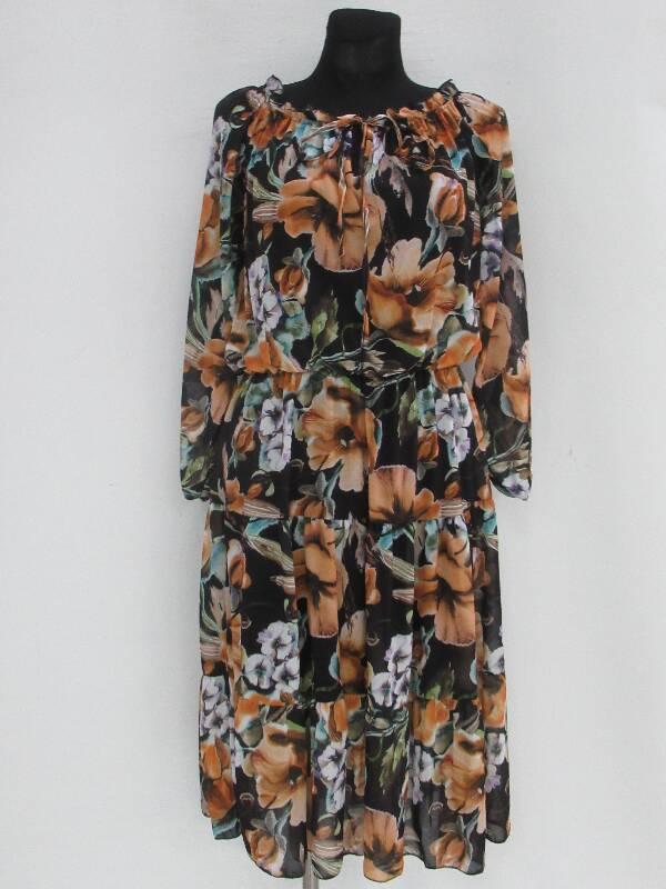 Sukienka Damska F5521 MIX WZÓR STANDARD ( Produkt Włoski )