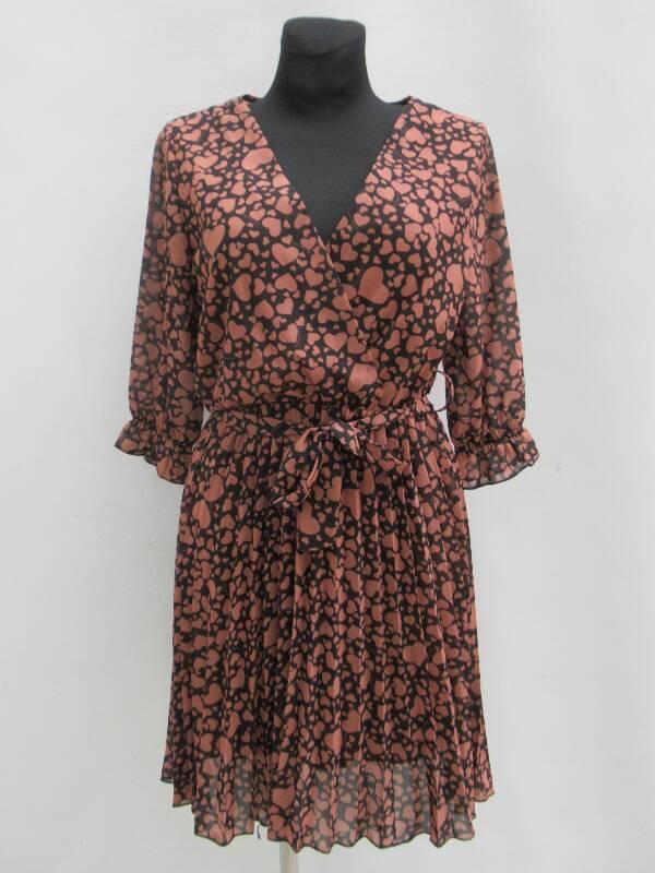 Sukienka Damska F5542 MIX WZÓR STANDARD ( Produkt Włoski )