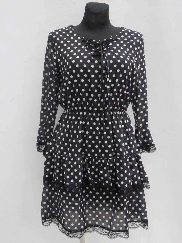Sukienka Damska F5554 MIX WZÓR STANDARD ( Produkt Włoski )