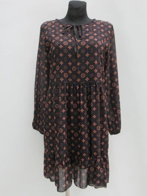 Sukienka Damska F5559 MIX WZÓR STANDARD ( Produkt Włoski )