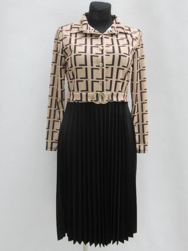 Sukienka Damska F5568 1 KOLOR STANDARD ( Produkt Włoski )
