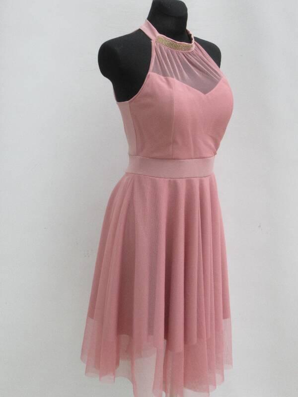Sukienka Damska F5608 MIX KOLOR STANDARD ( Produkt Włoski )