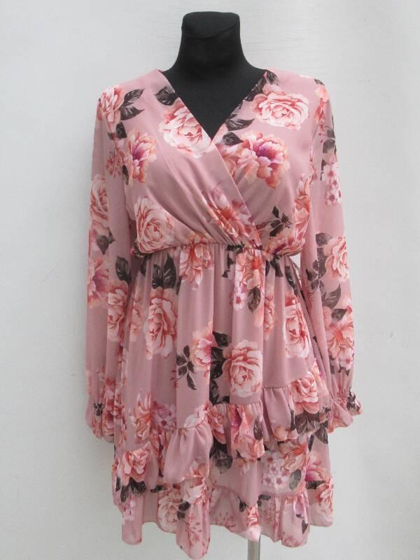 Sukienka Damska F5633 MIX KOLOR STANDARD ( Produkt Włoski )