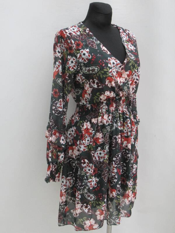 Sukienka Damska F5641 MIX KOLOR STANDARD ( Produkt Włoski )