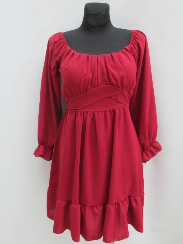 Sukienka Damska F5645 MIX KOLOR STANDARD ( Produkt Włoski )