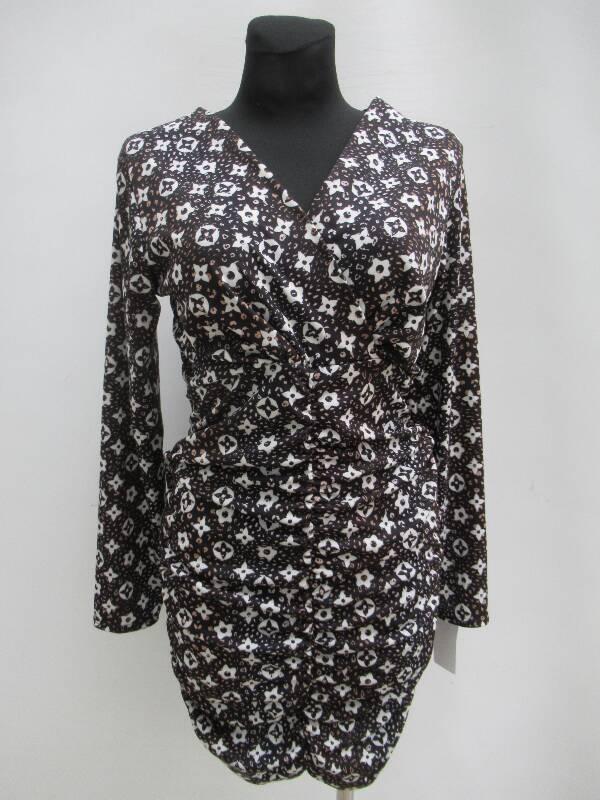 Sukienka Damska F5650 MIX WZÓR STANDARD ( Produkt Włoski )