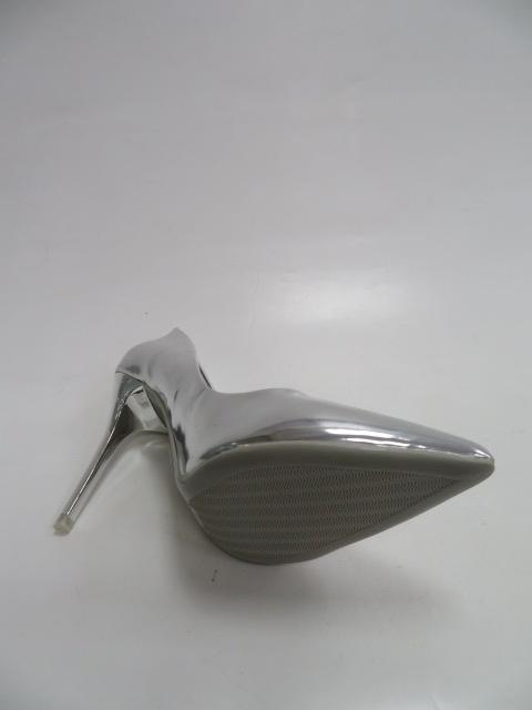 Szpilki Damskie LE-106 LE-106, Silver, 36-41