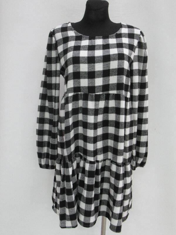 Sukienka Damska F5687 MIX KOLOR STANDARD ( Produkt Włoski )