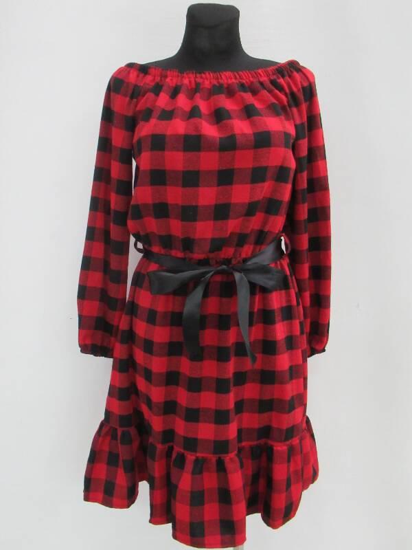 Sukienka Damska F5691 MIX KOLOR STANDARD ( Produkt Włoski )