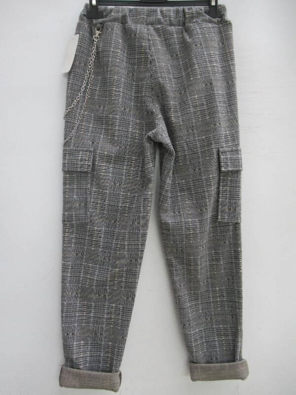 Spodnie Damskie F5717 1 KOLOR STANDARD  ( Produkt Włoski )
