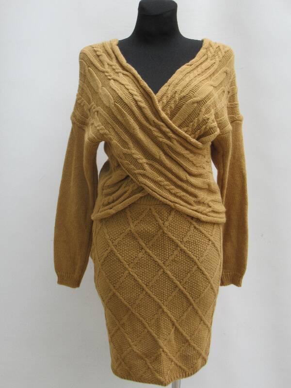 Sukienka Damska F5941 MIX KOLOR STANDARD ( Produkt Włoski )