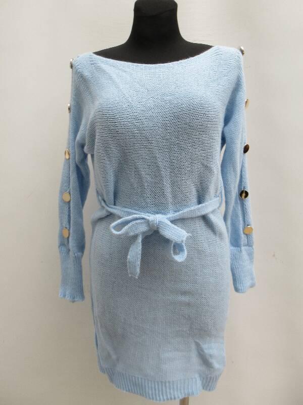 Sukienka Damska F5944 MIX KOLOR STANDARD ( Produkt Włoski )