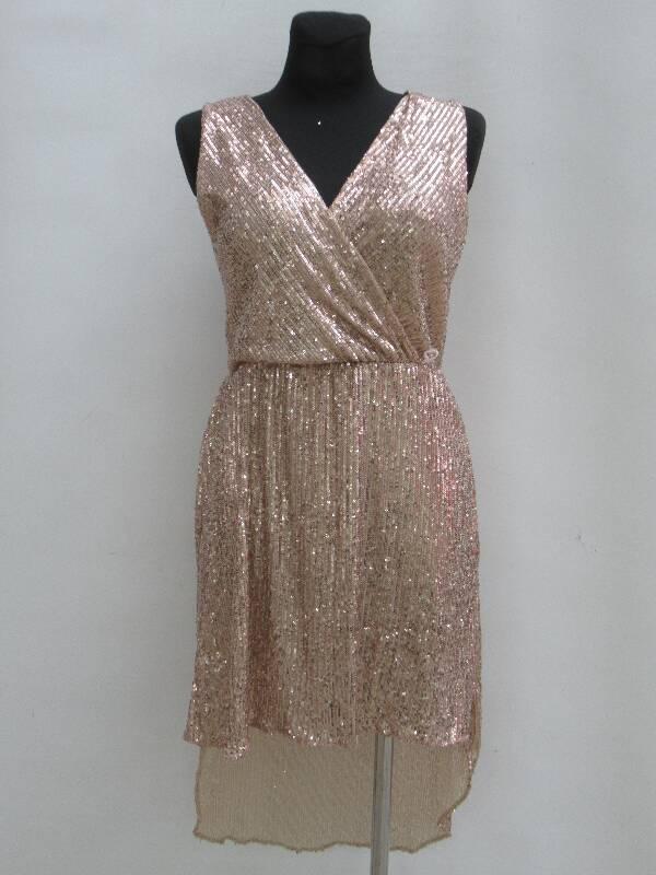 Sukienka Damska F5984 MIX KOLOR STANDARD ( Produkt Włoski )