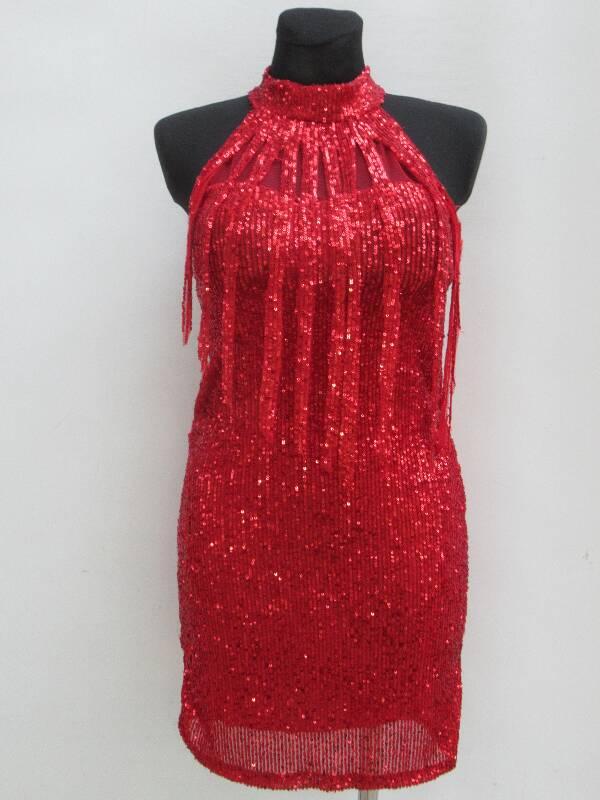 Sukienka Damska F5988 MIX KOLOR STANDARD ( Produkt Włoski )