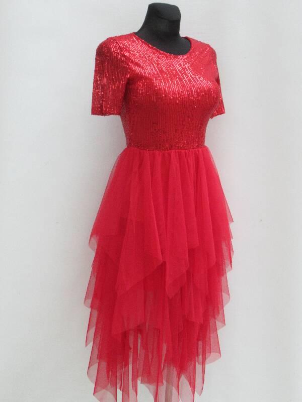 Sukienka Damska F5992 MIX KOLOR STANDARD ( Produkt Włoski )