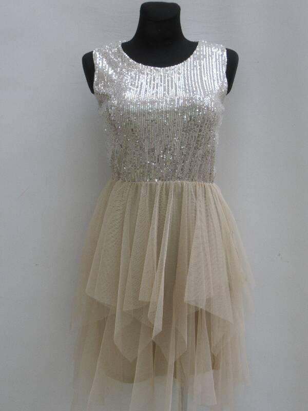 Sukienka Damska F5996 MIX KOLOR STANDARD ( Produkt Włoski )
