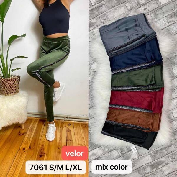 Spodnie Damskie 7061 MIX KOLOR S/M-L/XL