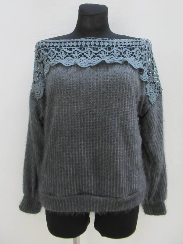 Sweter Damski F6026 MIX KOLOR STANDARD ( Produkt Włoski )