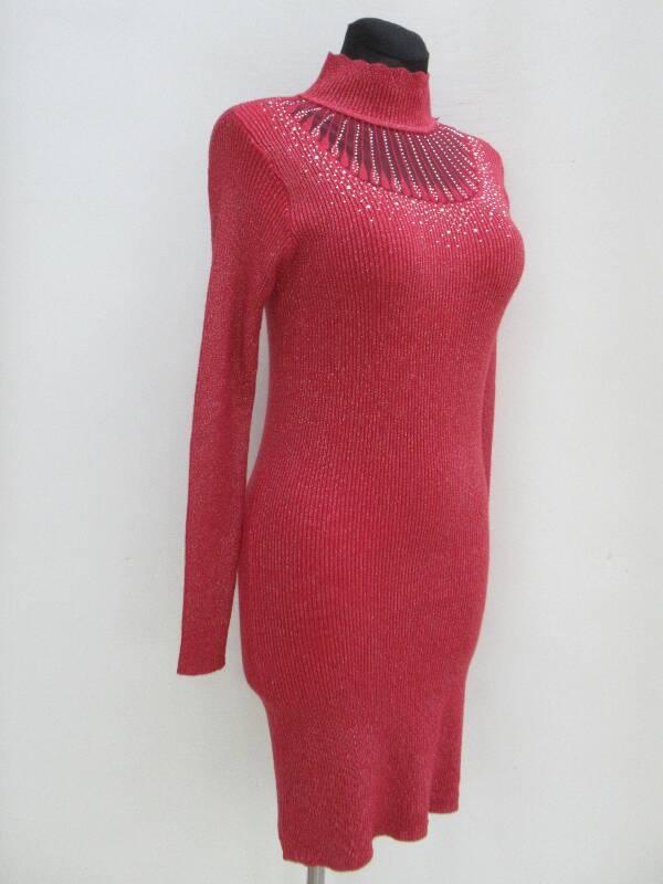 Sukienka Damska F6063 MIX KOLOR S/M-L/XL( Produkt Włoski )