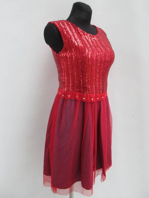 Sukienka Damska F6087 MIX KOLOR STANDARD ( Produkt Włoski )