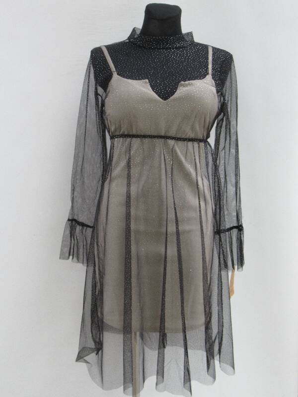Sukienka Damska F6091 MIX KOLOR STANDARD ( Produkt Włoski )