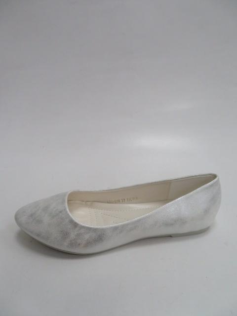 Baleriny Damskie  LE-316, Silver, 36-41