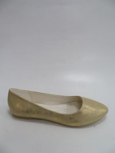 Baleriny Damskie LE-316, Gold , 36-41