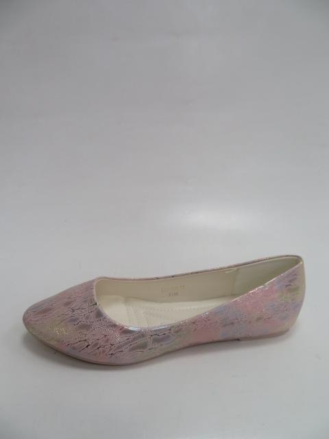 Baleriny Damskie LE-395, Pink , 36-41