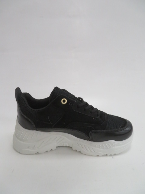 Sportowe Damskie 3005,Black, 36-41 2