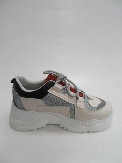 Sportowe Damskie 3010, Grey, 36-41 2