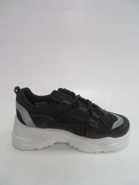 Sportowe Damskie 3010, Black, 36-41 2