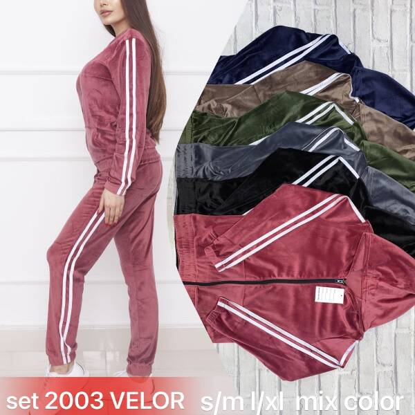 Komplet Damski SET2003 MIX KOLOR S-XL