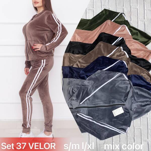Komplet Damski SET37 MIX KOLOR S-XL