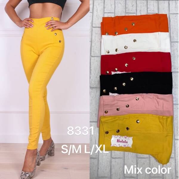 Spodnie Damskie 8331 MIX KOLOR S-XL