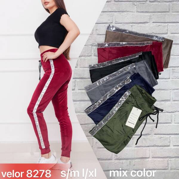 Spodnie Damskie 8278 MIX KOLOR S-XL