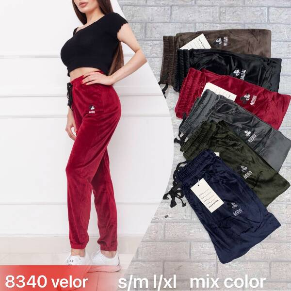 Spodnie Damskie 8340 MIX KOLOR S-XL