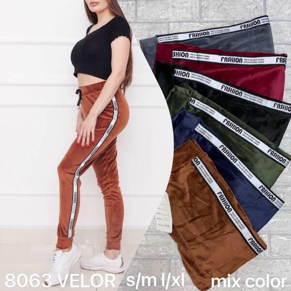 Spodnie Damskie 8063 MIX KOLOR S-XL