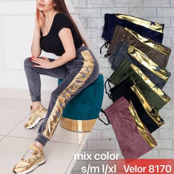 Spodnie Damskie 8170 MIX KOLOR S-XL