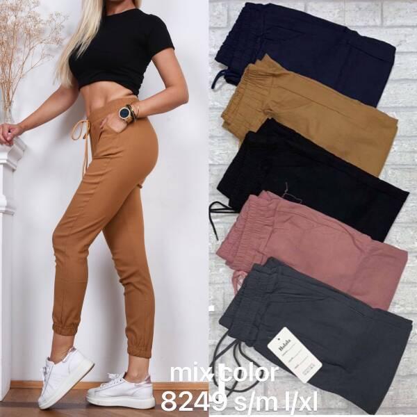 Spodnie Damskie 8249 MIX  KOLOR S-XL