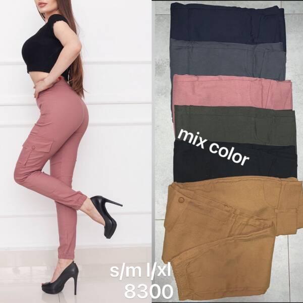 Spodnie Damskie 8300 MIX  KOLOR S-XL