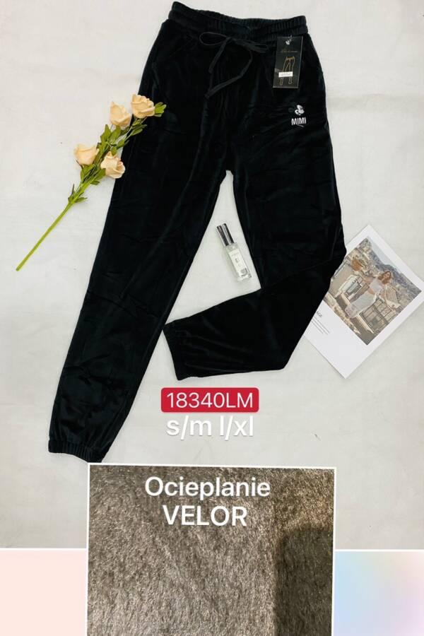 Spodnie Damskie 18340LM 1 KOLOR S-XL (OCIEPLANE)