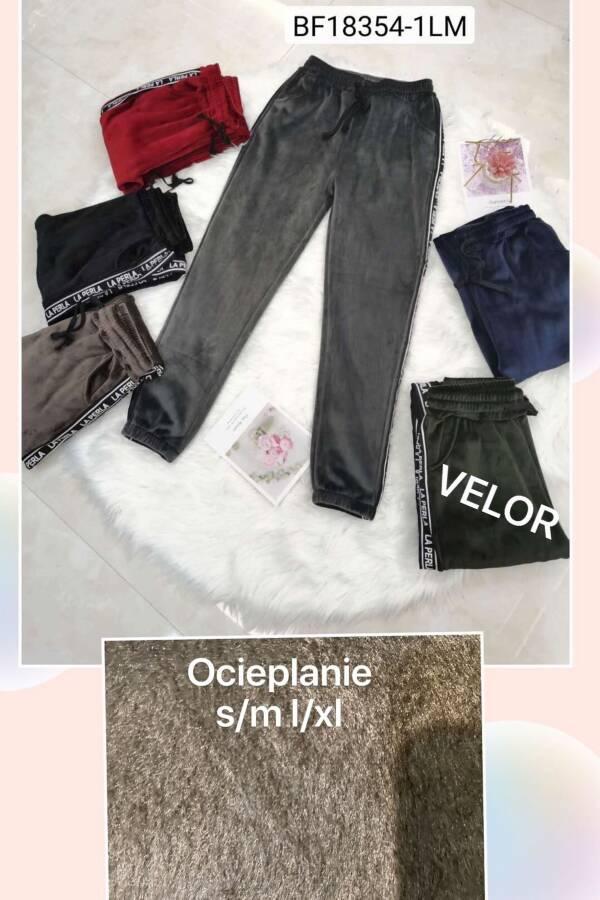 Spodnie Damskie 18354-1LM MIX KOLOR S-XL (OCIEPLANE)
