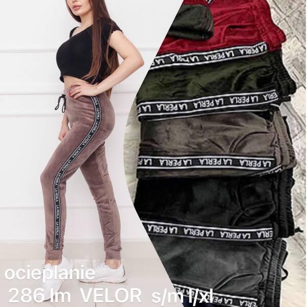Spodnie Damskie 268LM MIX KOLOR S/M-L/XL (OCIEPLANE)