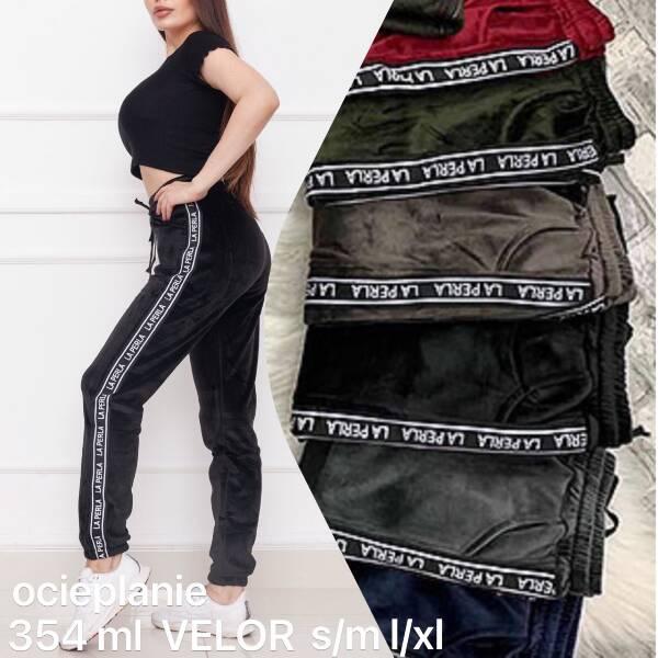 Spodnie Damskie 354LM MIX KOLOR S/M-L/XL (OCIEPLANE)