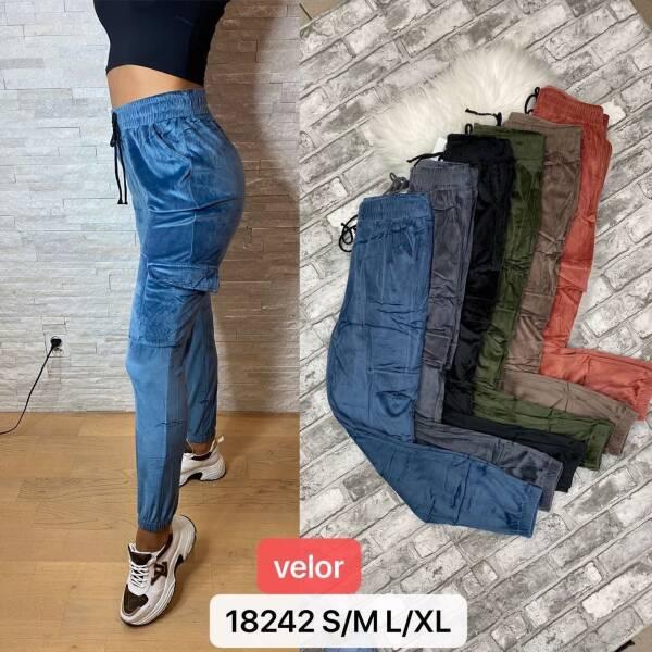 Spodnie Damskie 18242 MIX KOLOR S-XL