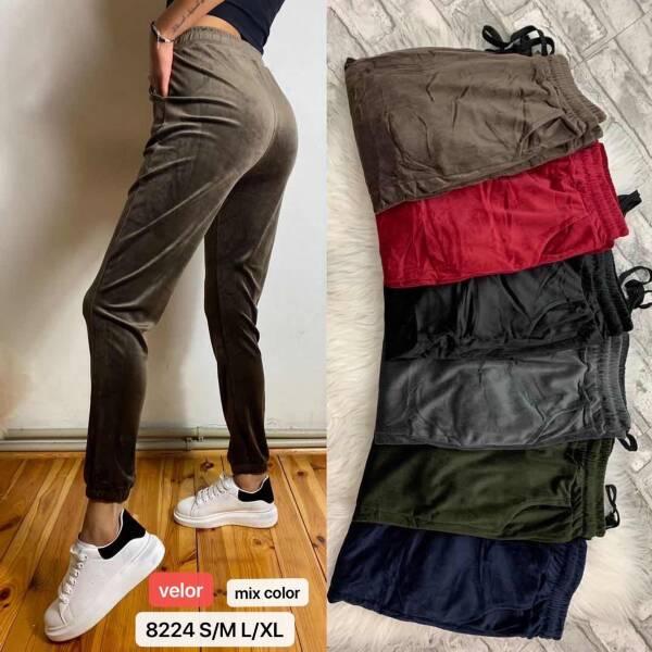 Spodnie Damskie 8224 MIX KOLOR S-XL