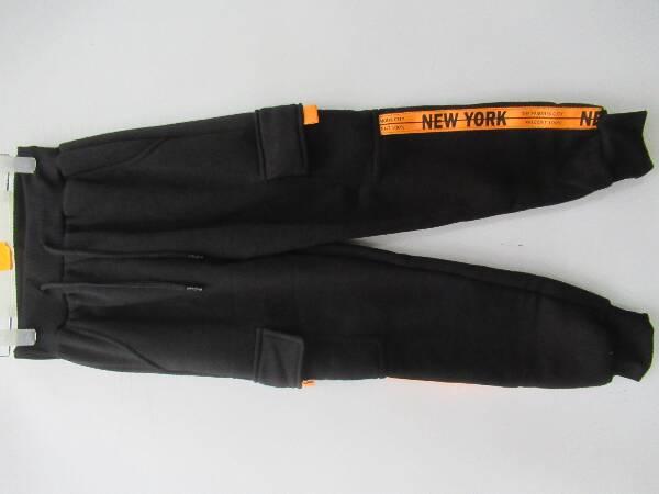 Spodnie Dziecięce 1040E MIX KOLOR 4-12 ( Ocieplane )